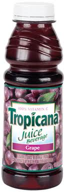Tropicana 16 oz.  Grape Case of 12