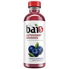 Bai Brasilia Blueberry 12/18 oz bottles