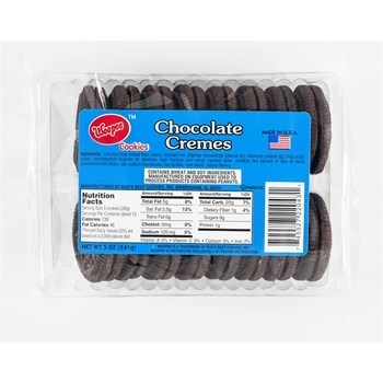 Whoopie Chocolate Creme Cookies 12/5 Oz