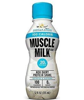 Muscle Milk - 100 Calorie Vanilla - 12/12 oz.
