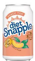 Snapple 11.5 oz (cans) - Diet Peach - Case of 24