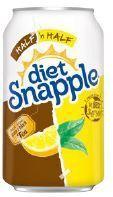 Snapple 11.5 oz (cans) - Diet Half & Half - Case of 24