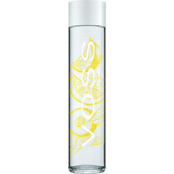 Voss Lemon Cucumber Sparkling Water 24/375 ML Glass Bottle