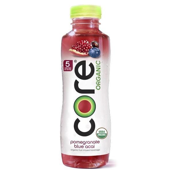 Core Organic Pomegranate Blue Acai 12/18 oz