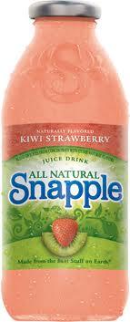 Snapple 16 oz  New Plastic Bottle Kiwi/Strawberry - Case of 24