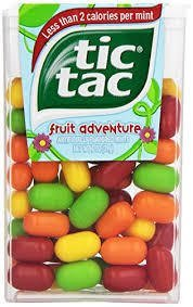 Tic Tacs - Fruit Adventure 12 count