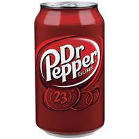 Dr. Pepper Soda Cans 12 oz - Case of 24