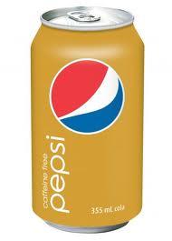Caffiene Free Pepsi - 12 oz - Case of 24