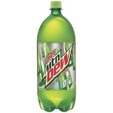 Diet Mountain Dew - 2 Liter - Case of 6