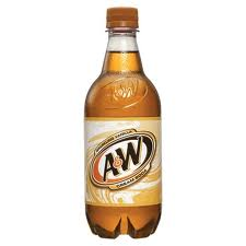 A&W Cream  20 oz -  Case of 24