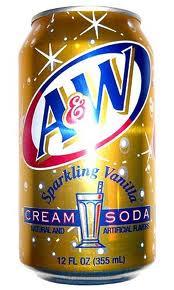 A&W Cream 12 oz (cans) - Case of 24