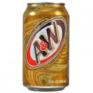 A&W Root Beer 12 oz (cans)  - Case of 24