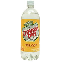 Canada Dry Tonic Water - 1 Liter - Case of 12