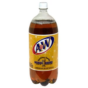 A&W Cream  2 Liter - Case of 6