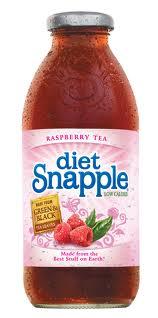 Snapple 16 oz New Plastic Bottle Diet Raspberry - Case of 24
