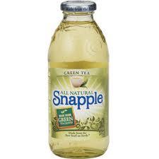 Snapple 16 oz New Plastic Bottle   Green Tea - Case of 24