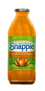 Snapple 16 oz New Plastic Bottle Mango Madness - Case of 24