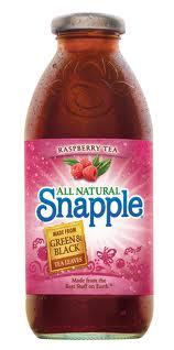 Snapple 16 oz New Plastic Bottle Raspberry - Case of 24