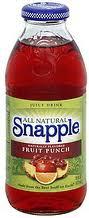Snapple 32 oz - Fruit Punch - Case of 12