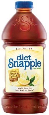 Snapple 64 oz - Diet Lemon - Case of 8