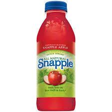 Snapple 20 oz (Plastic) - Apple - Case of 24