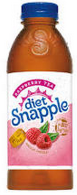 Snapple 20 oz (Plastic) - Diet Raspberry - Case of 24