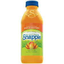 Snapple 20 oz (Plastic) - Mango - Case of 24