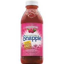 Snapple 20 oz (Plastic) - Raspberry - Case of 24