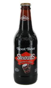 Stewarts Root Beer -  12 oz. Glass Bottles - Case of 24