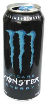 Monster Energy - Blue Low Carb 16 oz - Case of 24
