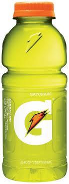 Gatorade 20 oz - Lemon-Lime - Case of 24