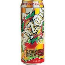 Arizona 23.5 oz  Cans 1/2 & 1/2 Mango - Case of 24