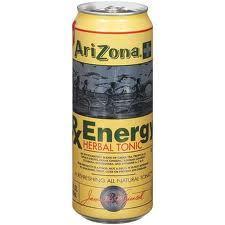 Arizona 23.5 oz Cans RX Energy - Case of 24