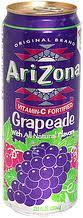 Arizona 23.5 oz Cans Grapeade - Case of 24
