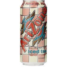 Arizona 23.5 oz Cans Peach - Case of 24