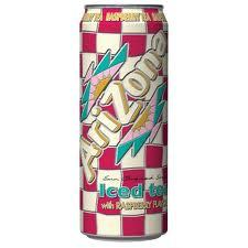 Arizona 23.5 oz Cans Raspberry - Case of 24