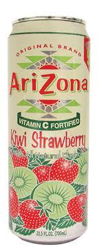 Arizona 23.5 oz Cans Strawberry/Kiwi - Case of 24