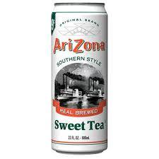 Arizona 23.5 oz Cans Sweet Tea - Case of 24
