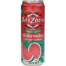 Arizona 23.5 oz Cans Watermelon - Case of 24