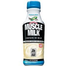 Muscle Milk - Vanilla - 12/14 oz.
