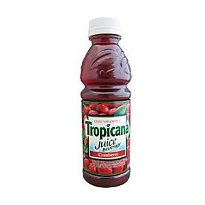 Tropicana 16 oz Cranberry Case of 12