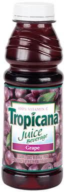 Tropicana 16 oz.  Grape Case of 12