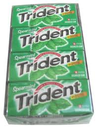 Trident Value Pack Gum - Spearmint
