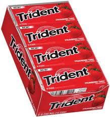 Trident Value Pack Gum - Strawberry