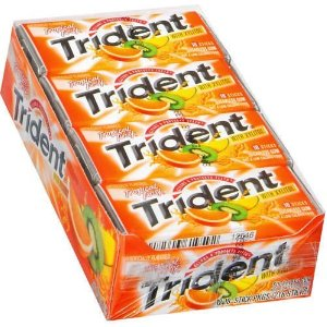 Trident Value Pack Gum - Tropical