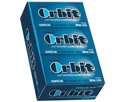 Orbit Regular Gum - Peppermint - 12 Count