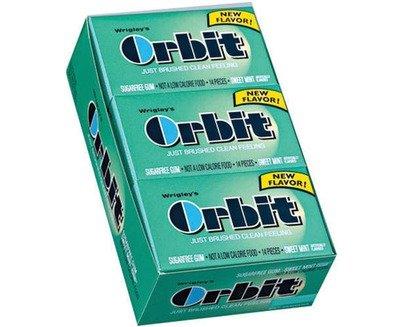 Orbit Regular Gum - Sweet Mint - 12 Count