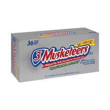 3 Musketeers - 36 Count
