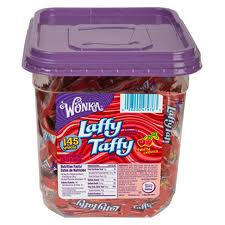 Laffy Taffy Tubs Cherry Case of 145