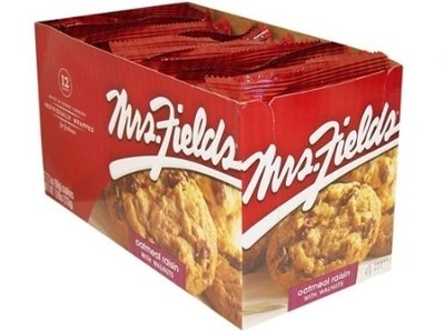 Mrs. Fields Cookies Oatmeal Raisin - 12 Count